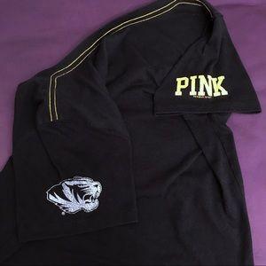 PINK Victoria's Secret Tops - VS Pink 5th & Ocean Mizzou-Rah T-Shirt Medium
